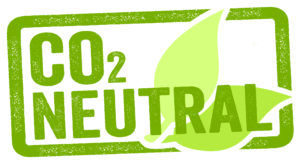 Logo CO2 neutral zum Thema Energiedesign